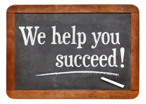 "Picture declaring ""we help you succeed"""